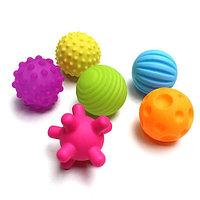 Сенсорные мячики-пищалки для малышей.