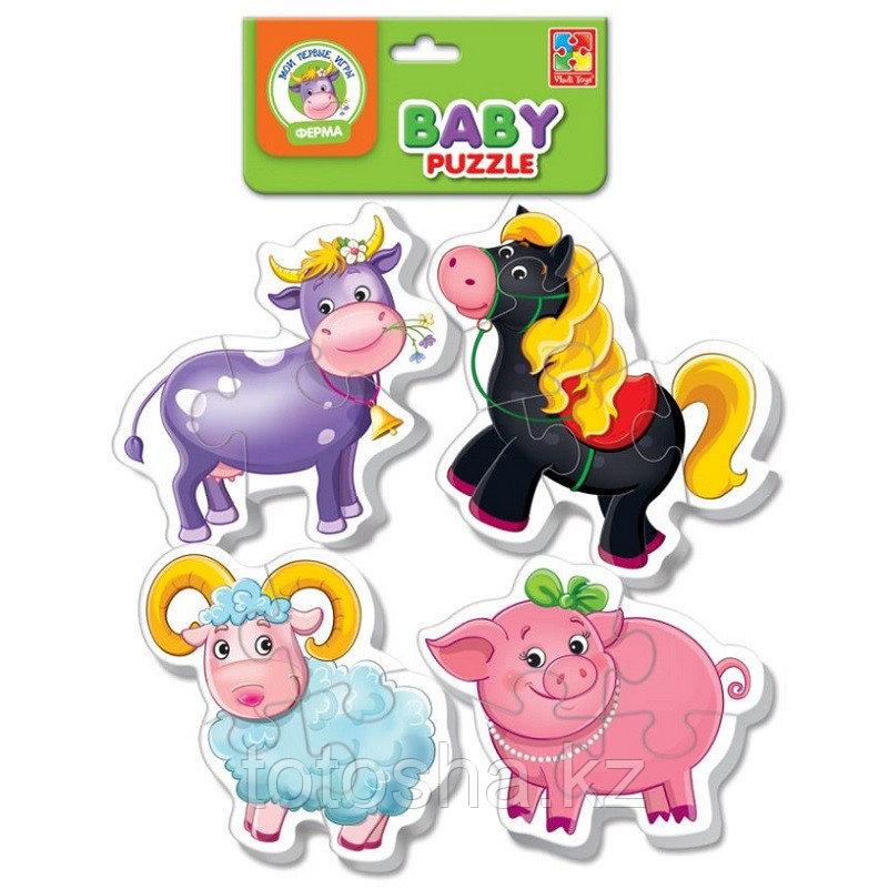 """Baby Puzzle """"Ферма"""" VT1106-51"""