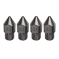 Набор сопел для 3Д принтера MK8 M6 закаленная сталь 1.75 мм