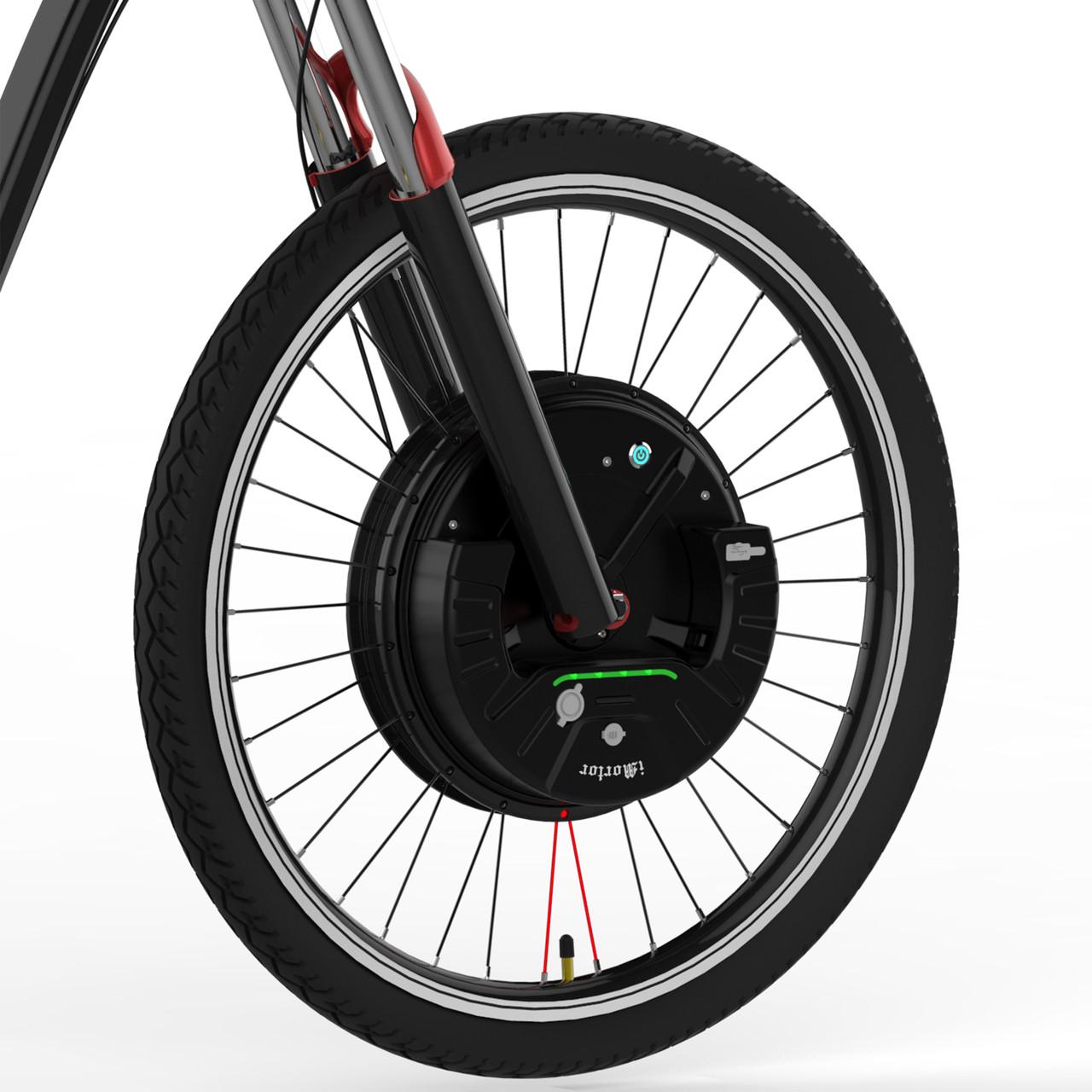 Электронабор  для велосипеда  iMortor III, переднее мотор-колесо 36v 800w.+акк. 36v 7,2A/H. 26''