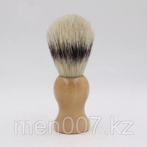 Помазок с деревянной ручкой (кабан) нелакированная ручка