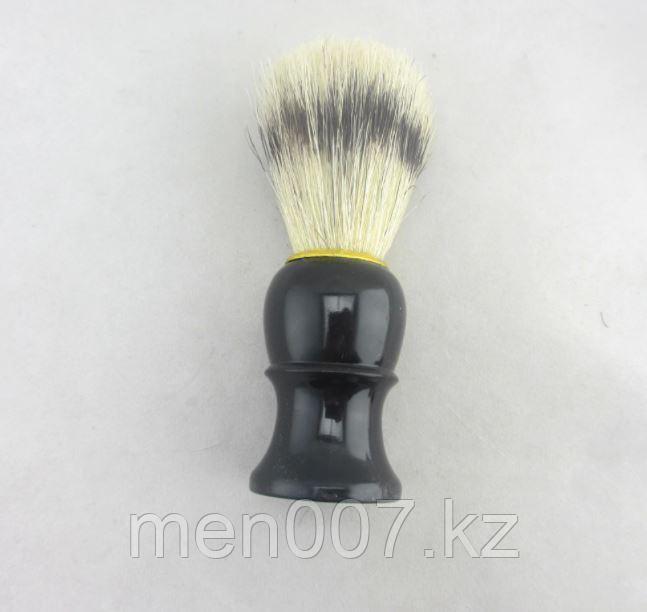 Помазок с черной деревянной ручкой (кабан)