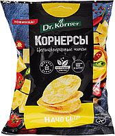 Чипсы Dr. Korner цельнозерновые, кукурузно-рисовые с сыром начо, 50 г