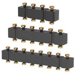 Распределительные коллекторы для насосных групп системы отопления  meibes MeiFlow Top S - 3 контур.