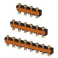 Распределительные коллекторы для насосных групп системы отопления meibes MeiFlow Top S - 5 контур.