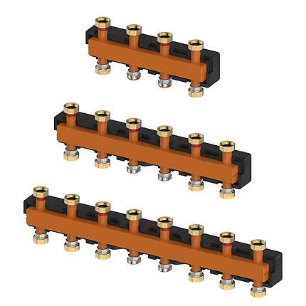 Распределительные коллекторы для насосных групп системы отопления  meibes MeiFlow Top S - 5 контур., фото 2