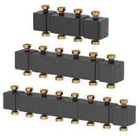 Распределительные коллекторы для насосных групп системы отопления meibes MeiFlow Top S - 7 контур.