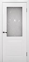 """Межкомнатная дверь """"Бриз"""", Эмаль Белая"""