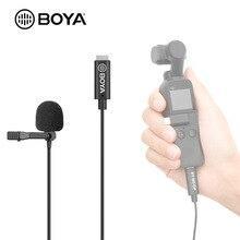 BOYA BY-M3-OP Lavalier микрофон Петличный микрофон