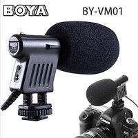 Накамерный микрофон BOYA-BY-VM1 от BOYA