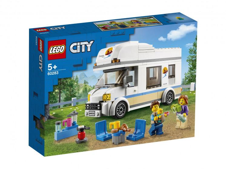 LEGO City 60283 Отпуск в доме на колёсах, конструктор ЛЕГО - фото 2