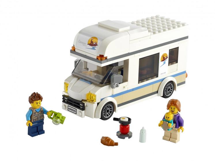 LEGO City 60283 Отпуск в доме на колёсах, конструктор ЛЕГО - фото 3