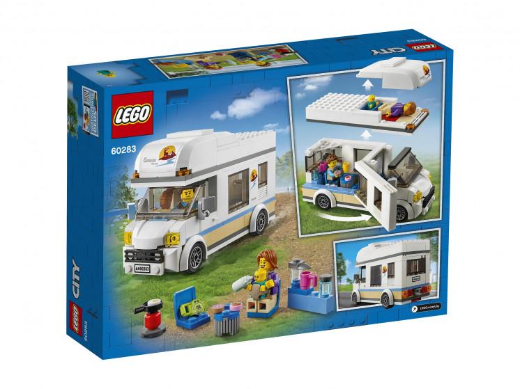 LEGO City 60283 Отпуск в доме на колёсах, конструктор ЛЕГО - фото 4