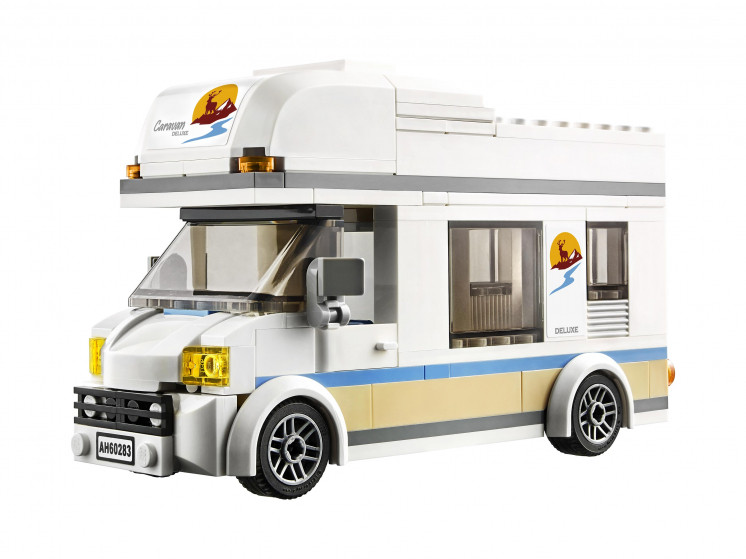 LEGO City 60283 Отпуск в доме на колёсах, конструктор ЛЕГО - фото 5