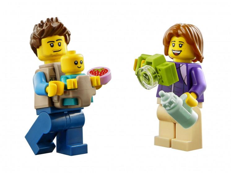 LEGO City 60283 Отпуск в доме на колёсах, конструктор ЛЕГО - фото 6