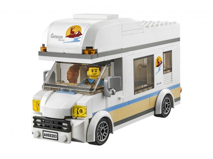 LEGO City 60283 Отпуск в доме на колёсах, конструктор ЛЕГО - фото 8