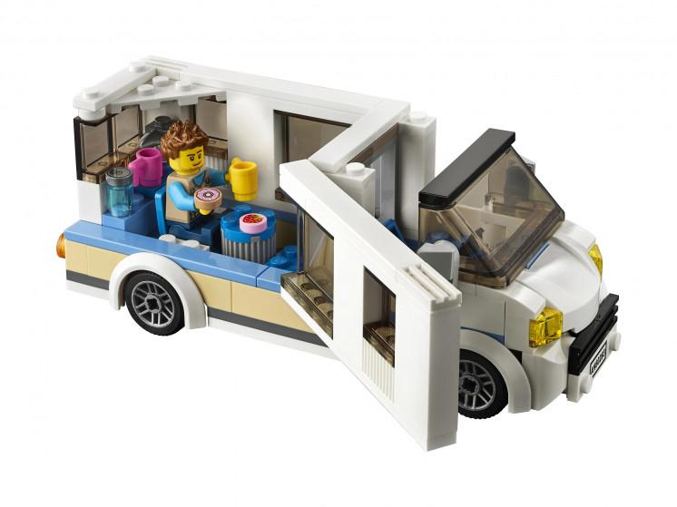 LEGO City 60283 Отпуск в доме на колёсах, конструктор ЛЕГО - фото 9