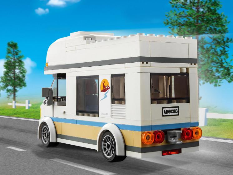 LEGO City 60283 Отпуск в доме на колёсах, конструктор ЛЕГО - фото 10