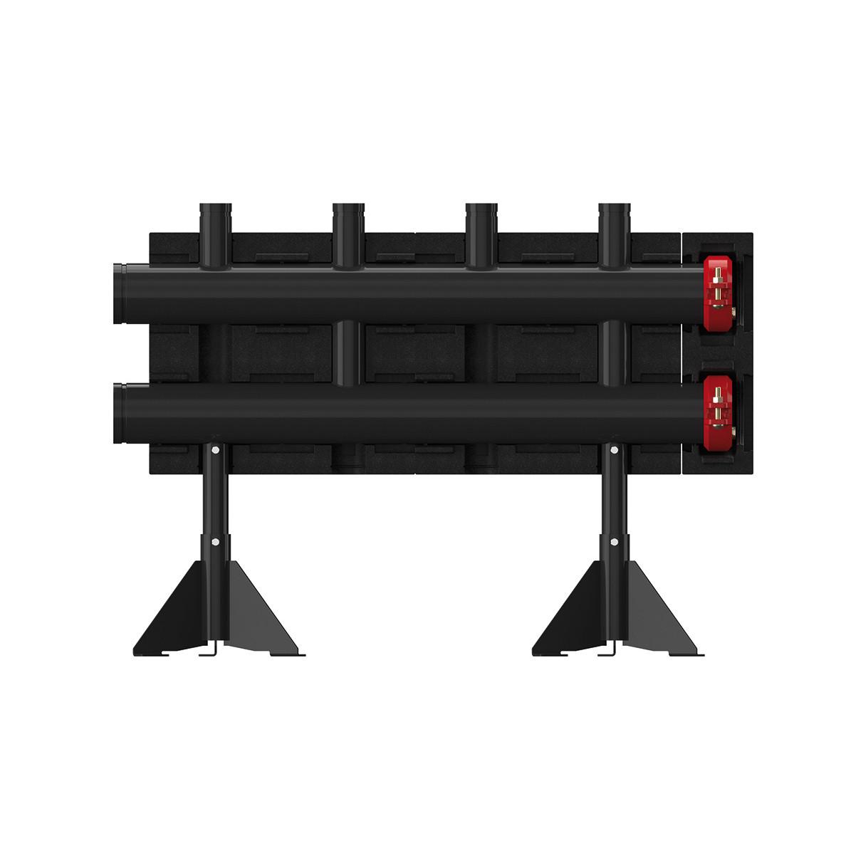 Напольные распределители (коллектор) на 2 контура - Meibes  MeiFlow L MF -2300 кВт