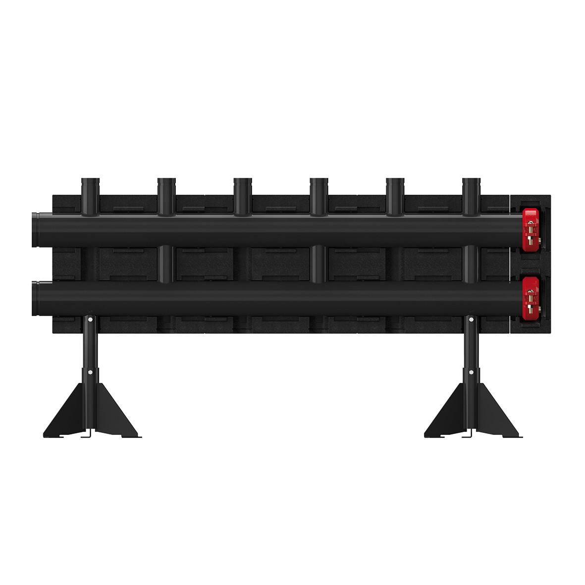 Напольные распределители (коллектор) на 3 контура - Meibes  MeiFlow L MF -280 кВт