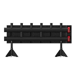 Напольные распределители (коллектор) на 3 контура - Meibes  MeiFlow L MF -280 кВт, фото 2