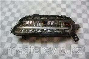 Поворот в бампер передний с ДХО Porsche Panamera 10-16  правый / левый