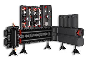 Напольные распределители (коллектор) на 3 контура - Meibes  MeiFlow L MF -700 кВт, фото 2