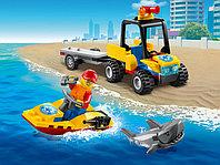LEGO City 60286 Пляжный спасательный вездеход, конструктор ЛЕГО
