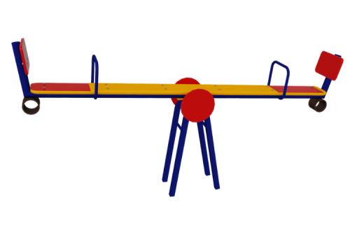 Качалка-балансир со спинкой