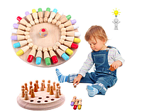 Детская игра «Memory chess». Развитие памяти