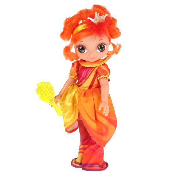 Сказочный патруль Интерактивная кукла Алёнка Королева Бала, 32 см. 15 песен и фраз