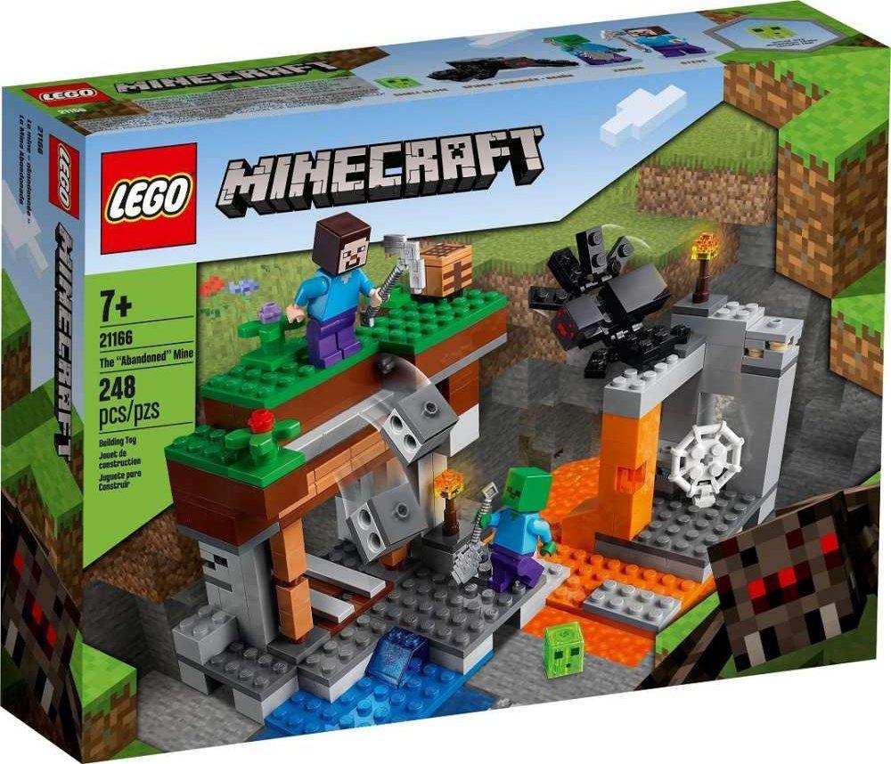 21166 Lego Minecraft «Заброшенная» шахта, Лего Майнкрафт
