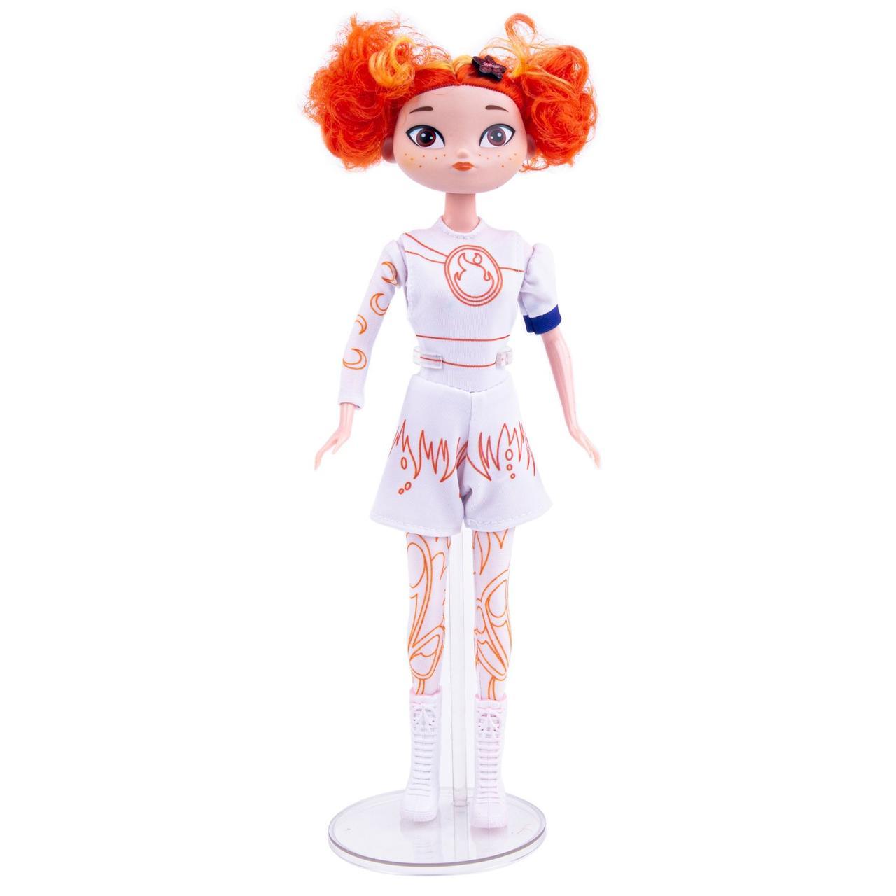 Сказочный патруль - Кукла Алёнка «Раскрась и смой водой» - Девочка-огонь