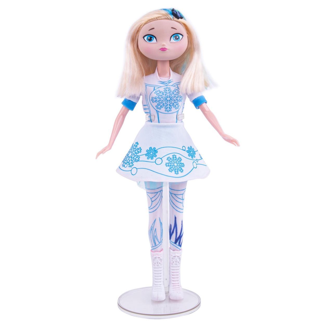 Сказочный патруль - Кукла Снежка «Раскрась и смой водой» - Девочка-загадка