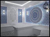 Дизайн и визуализация турецких бань (хаммамов) и паровых комнат (steam room)