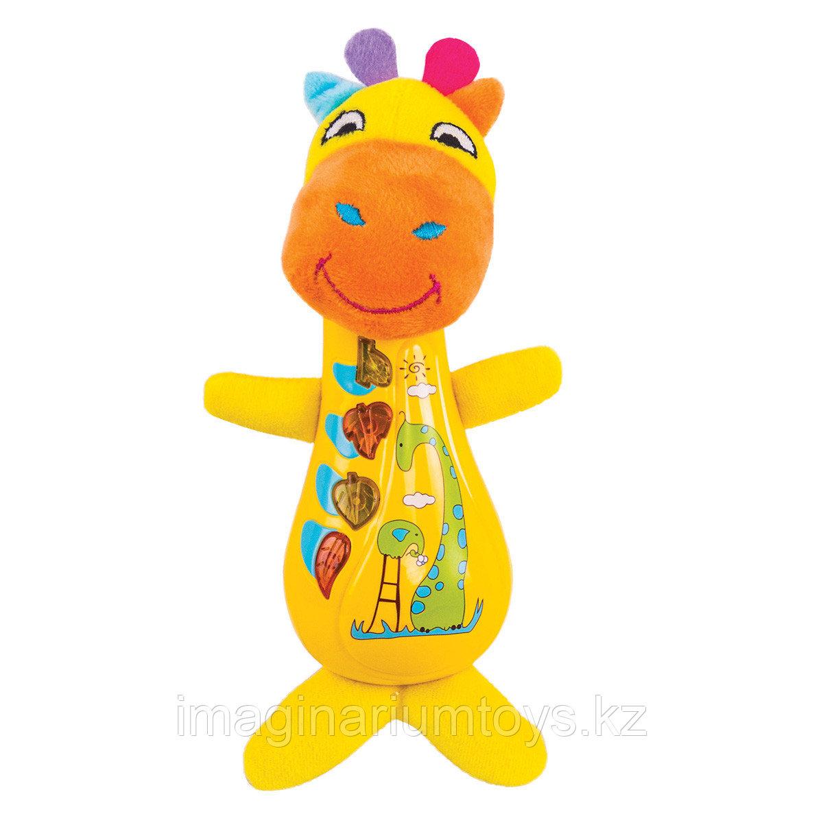 Музыкальная игрушка для детей от 1 года Жираф Спот Happy Snail