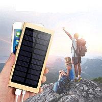 Внешний аккумулятор для сотового телефона, Мини Портативный внешний аккумулятор на солнечной энергии 10000 мАч