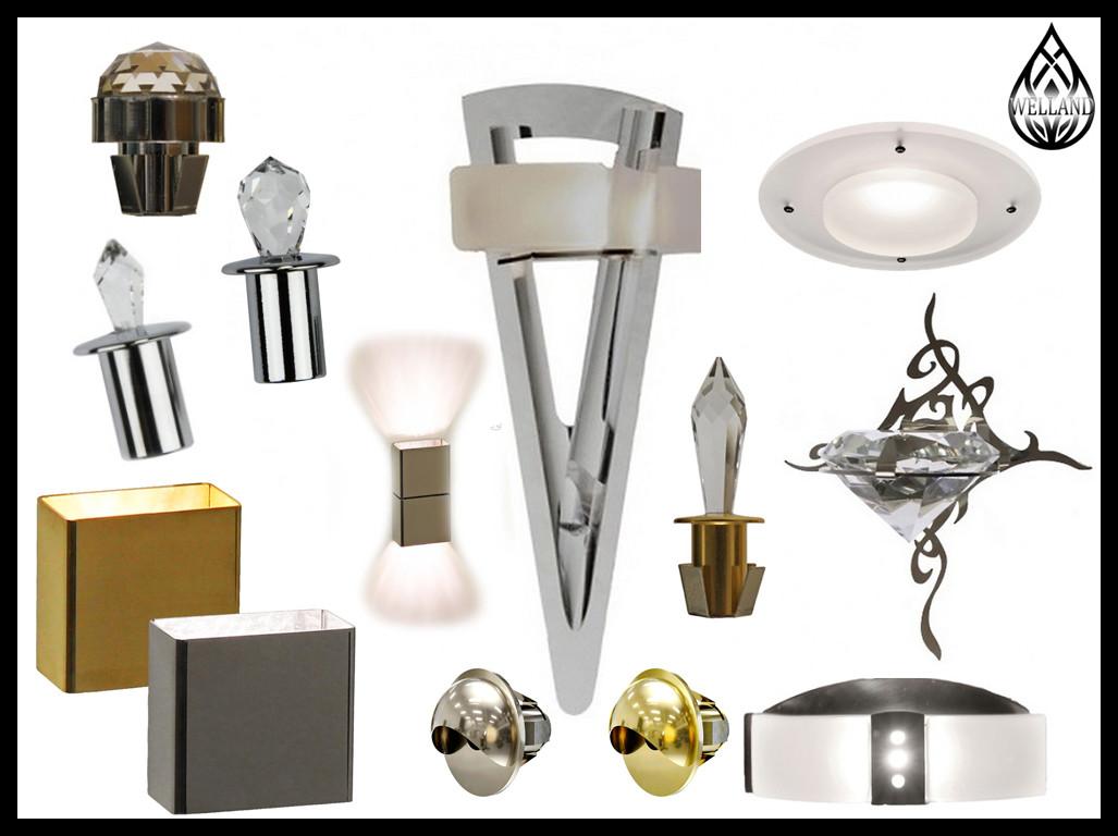 Светильники для паровой комнаты Cariitti (С источником света)