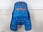 Детское сидение для велосипеда крепится сзади на багажник, фото 5