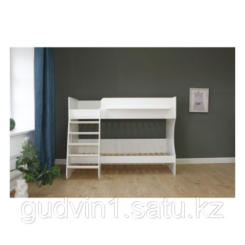 Двухъярусная кровать Капризун К432.2 (белый) 01-19220