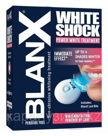 Отбеливающий уход Blanx  световой активатор White Shock Treatment  Led Bite