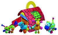 Развивающая игрушка-спираль Biba Toys фермерский дом с животными 4шт.