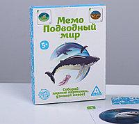 Настольная игра «Мемо Подводный мир», 50 карточек, фото 1