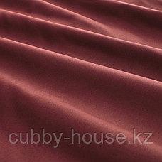 LUKTJASMIN ЛЮКТЭСМИН Пододеяльник и 2 наволочки, красно-коричневый200x200/50x70 см, фото 3
