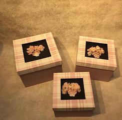 Коробки подарочные 3 в 1