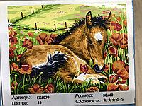 Картина рисование по номерам ,30x40 см