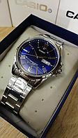 Мужские часы CASIO MTP-1384D-2AVDF серебристые