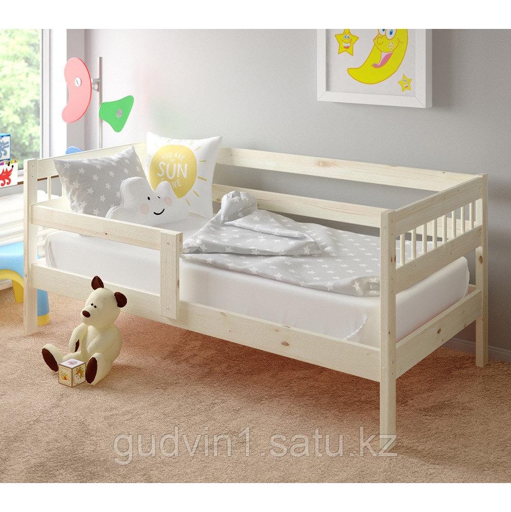 PITUSO Кровать Подростковая HANNA NEW   №7 Натуральный
