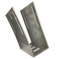 Алюминиевый П-кронштейн 4 см * 10 см * 14 см