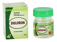 """Бальзам """"Долорон"""" успокаивающий с двойным эффектом 10 гр., от суставных и мышечных болей, устраняет отеки и"""